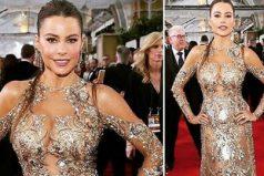 Las fuertes críticas a Sofía Vergara por su broma en los Golden Globes