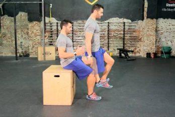 El reto de los 4 minutos: cómo ponerse como una roca con una silla