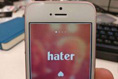 Hater, el Tinder de los que odian las mismas cosas