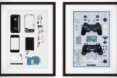 Tendencia en decoración: las patentes de Apple, Google, Nintendo… en forma de cuadro