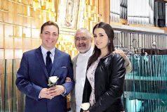El cantante Cristian Castro se separa de su tercera mujer durante su luna de miel en Suiza