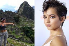 Transformers: La actriz Isabela Moner regresa a rus raíces y visita Machu Picchu
