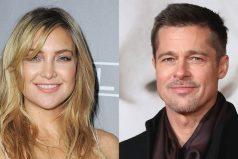 Hermano de Kate Hudson habló del romance de la actriz con Brad Pitt
