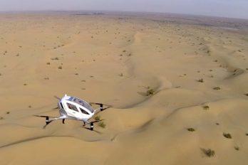 Servicio de taxis voladores sin conductor se estrenará en Dubai