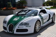 Dubai tiene el auto policial más rápido del mundo. ¡Puede ir a 407 kilómetros por hora!