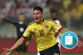 La FIFA decidió hacerlo un importante homenaje a James Rodríguez como máximo goleador del Mundial de Brasil 2014