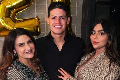 Así va el embarazo de Juana Valentina la hermana de James Rodríguez