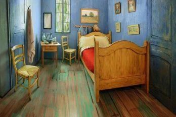¿Has soñado con dormir en este cuarto pintado por Van Gogh? Ahora es posible