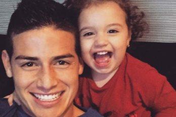 Hija de James Rodríguez, baila y canta en redes sociales