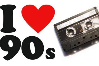 ¡Devuelve el Casete! 20 Canciones de los 90 que seguro bailaste y cantaste a grito herido