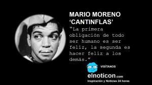 Cantinflas- ser feliz
