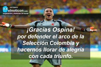 ¡Gracias Ospina!