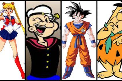 ¡Recuerda los dibujos animados que te acompañaron en tu infancia!