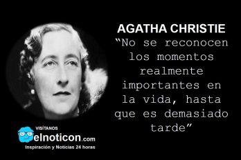 Agatha Christie, momentos