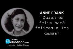 Anne Frank, felicidad