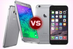¿Quieres un nuevo celular? Mira cuál aguanta más golpes y agua, Samsung o Iphone