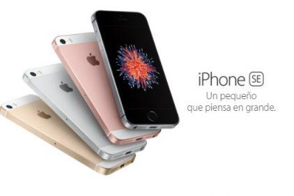 Mexicanos ya pueden comprar el nuevo iPhone SE