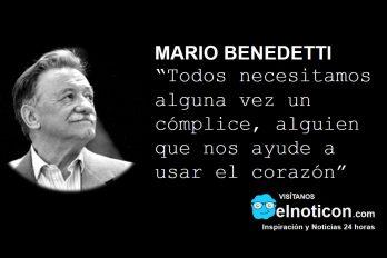 Mario Benedetti, cómplice