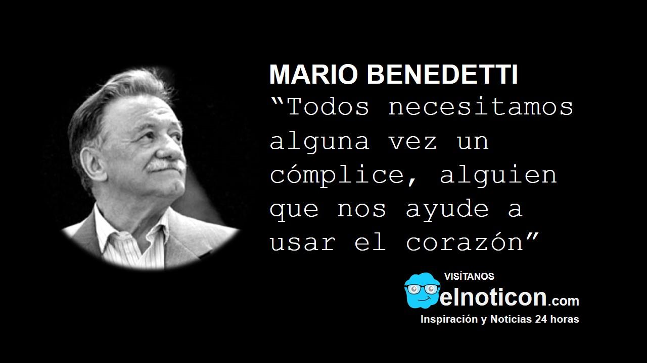 Mario Benedetti, cómplice - ElNoti.com