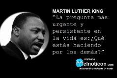 Martin Luther King, ¿Qué estás haciendo por los demás?