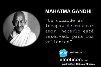 Mahatma Gandhi, el amor