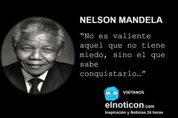 Nelson Mandela, valentía