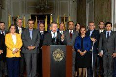 Santos llama a frente unido tras 'decisión' de La Haya