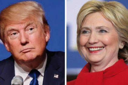 Trump y Clinton se acercan a la nominación de sus partidos