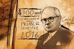¿No te alcanza el sueldo? En marzo lanzan el nuevo billete de 100 mil pesos