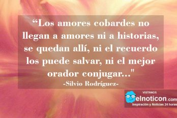 """""""Los amores cobardes no llegan a amores ni a historias…"""