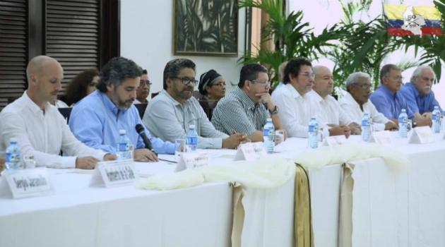 Mesa de negociación de la paz en la Habana, Cuba