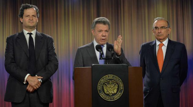 Declaración del Presidente Juan Manuel Santos sobre el proceso de paz