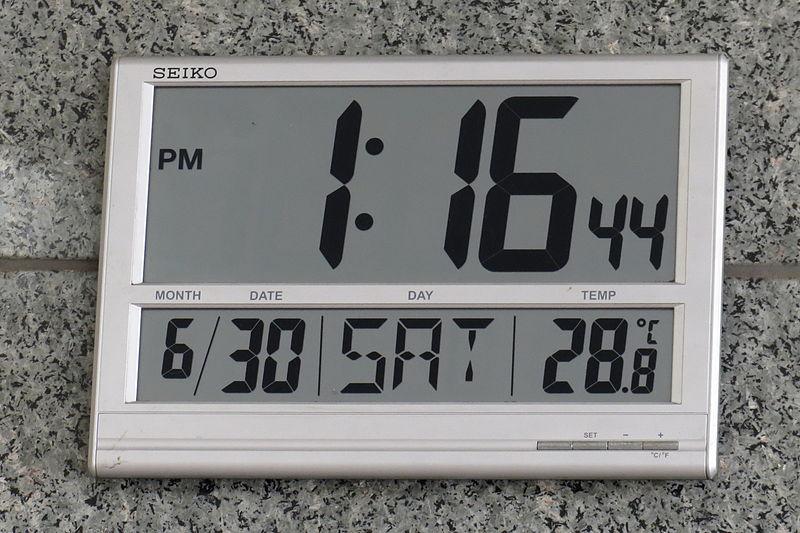 Historia del reloj digital
