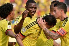 Colombia derrotó a Ecuador y parcialmente es tercero en la Eliminatoria