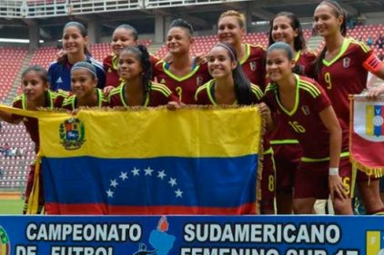 Venezuela logró clasificar al Mundial Femenino Sub 17 en Jordania