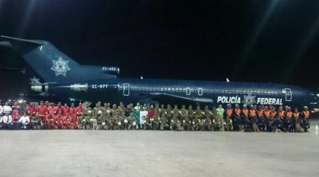 México envía ayuda humanitaria a Ecuador