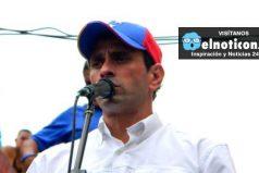 Capriles propone revocatorio a Maduro como tema principal en la próxima reunión entre oposición y gobierno