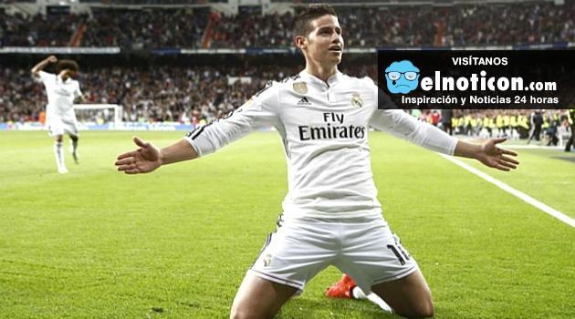20 goles y 20 asistencias de James Rodríguez