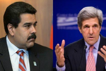 Gobierno de Venezuela rechaza declaraciones del secretario de Estado de EE.UU. John Kerry
