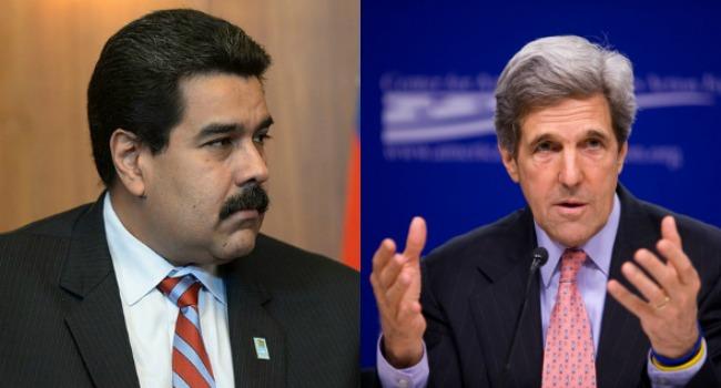 Gobierno de Venezuela rechaza declaraciones del secretario de Estado de EE.UU John Kerry