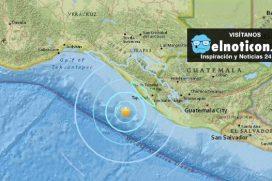 Se registra un sismo de 5,6 grados en la costa sur de México