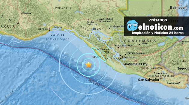 Se registra un sismo de magnitud 5,6 en el sur de México