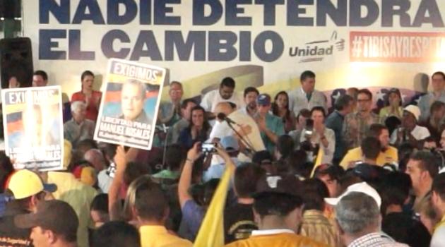 3 años de Maduro en el poder y Oposición marcha en Venezuela