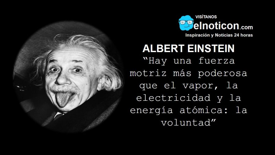 Albert Einstein, la voluntad