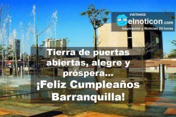 ¡Feliz cumpleaños Barranquilla!