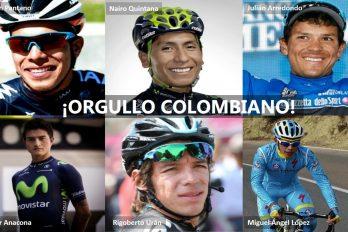 ¡Estos son los Colombianos que corren la Vuelta a Romandía!