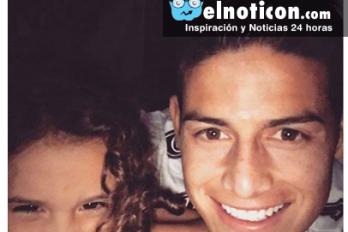 James Rodríguez, un hombre de familia, con su post supera los 830.000 likes en Facebook