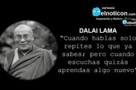 Dalai Lama, escuchar