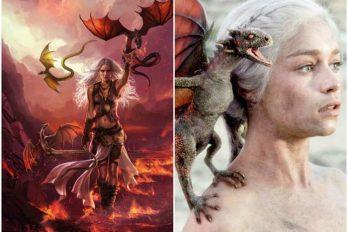Así son los personajes de Game of Thrones en los libros ¡Maravillosos!