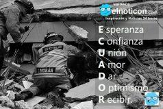 Ecuador, estamos contigo…